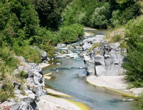 Alcantara, il viaggio, il fiume